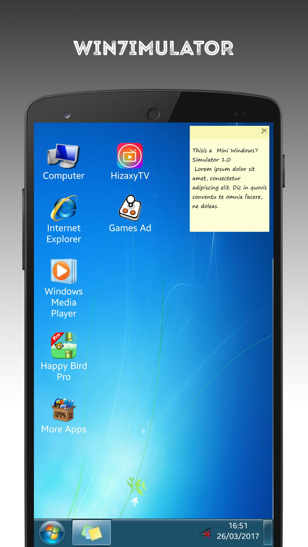 7imulator : Simulator for Windows7 for Android - APK Download