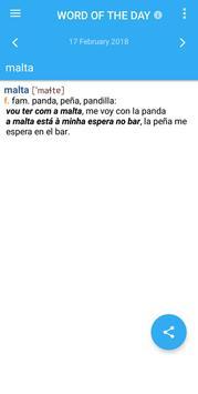 VOX Portuguese<>Spanish Dictionary apk screenshot