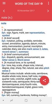 Webster's Thesaurus apk screenshot