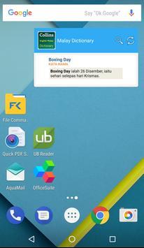 Collins Malay Dictionary apk screenshot