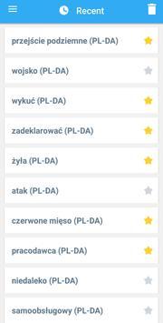 Collins Danish<>Polish Dictionary screenshot 6