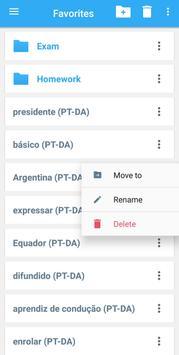 Collins Danish<>Portuguese Dictionary screenshot 3