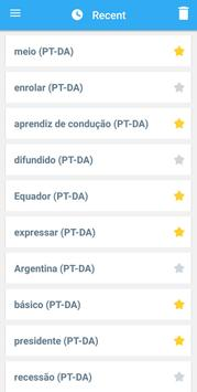 Collins Danish<>Portuguese Dictionary screenshot 6