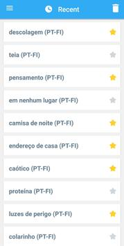 Collins Finnish<>Portuguese Dictionary apk screenshot