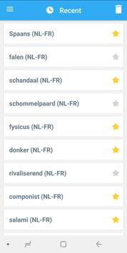 Collins French<>Dutch Dictionary apk screenshot