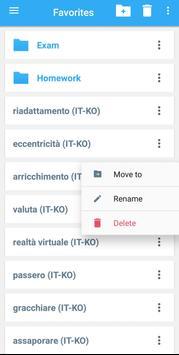 Collins Korean<>Italian Dictionary screenshot 4