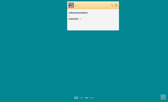 Norwegian<>Swedish Dictionary apk screenshot