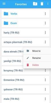 Collins Russian<>Turkish Dictionary screenshot 4