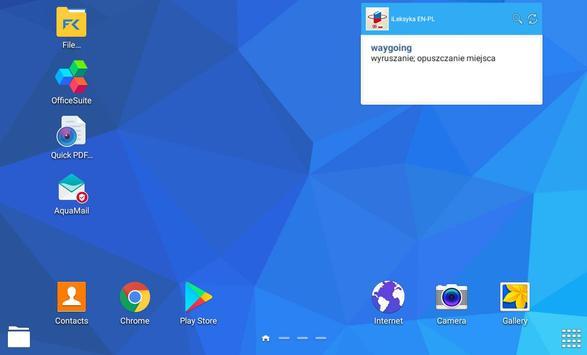 iLeksyka Deluxe English/Polish apk screenshot