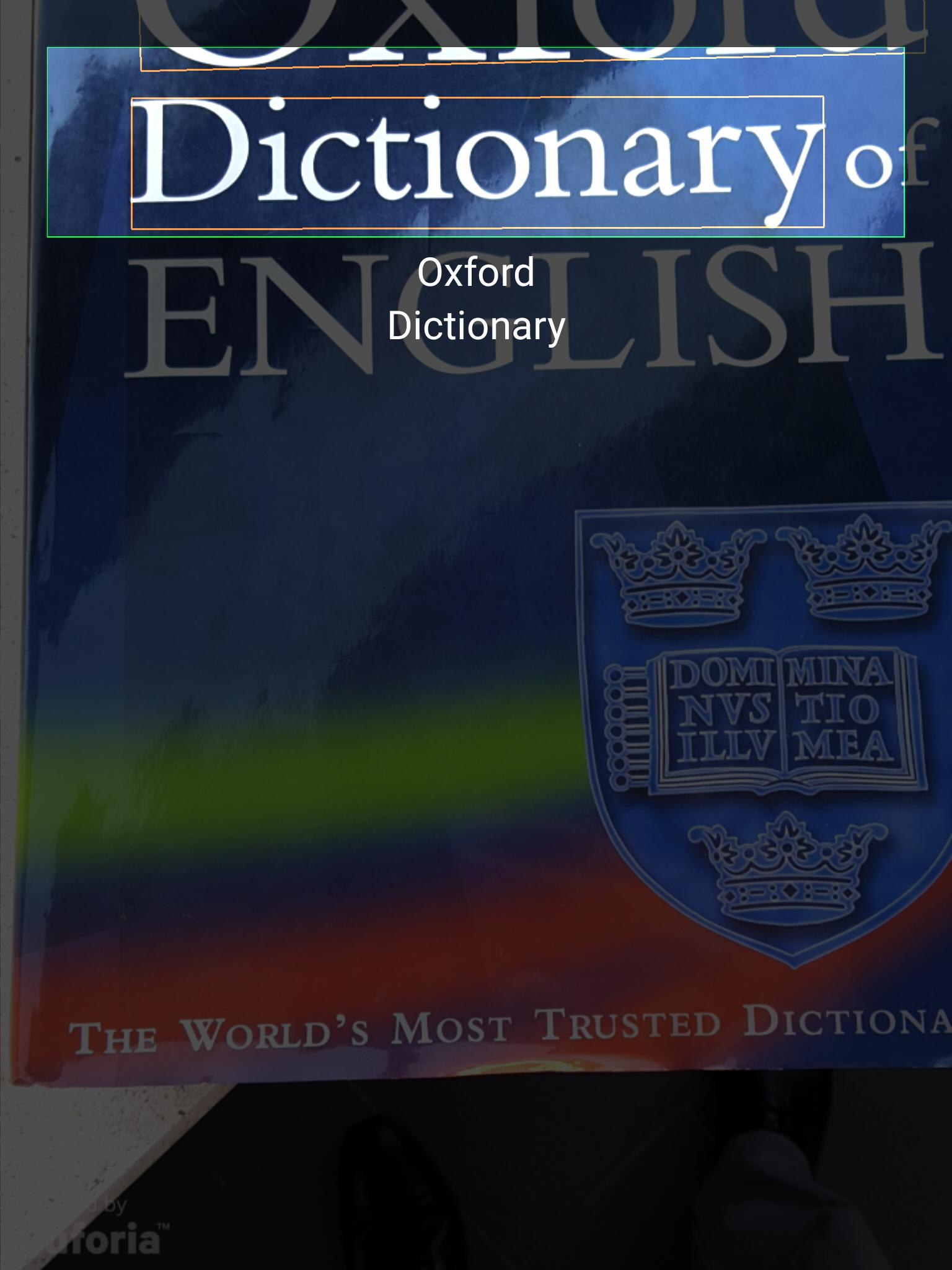 Concise Oxford American Dictionary & Thesaurus for Android - APK