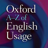 Oxford A-Z of English Usage icon