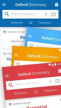 Oxford Dictionary of English & Thesaurus screenshot 3