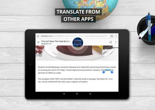 Oxford Dictionary of English : Free apk screenshot