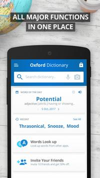 Oxford Dictionary of English screenshot 2