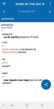 Oxford Portuguese Dictionary apk screenshot