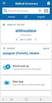 Oxford French Dictionary apk screenshot