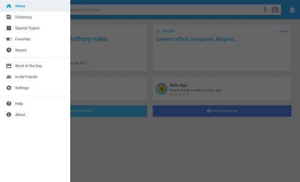 Oxford Dictionary of Physics apk screenshot