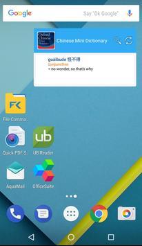 Oxford Chinese Mini Dictionary apk screenshot
