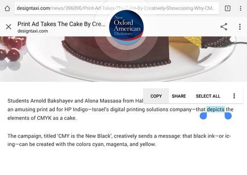New Oxford American Dictionary apk screenshot