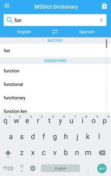 Dictionary English<>Spanish screenshot 3