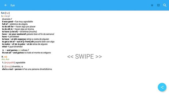 Dictionary English<>Spanish screenshot 12