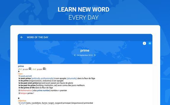 Оxford Dictionary with Translator imagem de tela 14