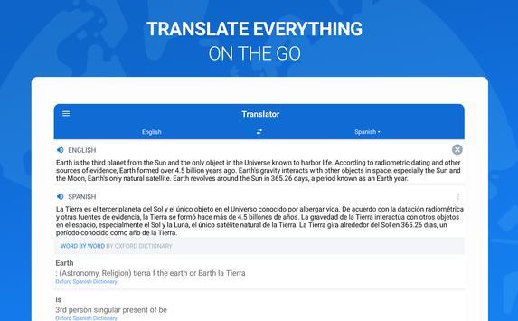 Оxford Dictionary with Translator imagem de tela 10