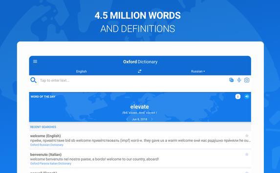 Оxford Dictionary with Translator imagem de tela 8
