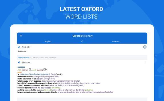 Оxford Dictionary with Translator apk screenshot