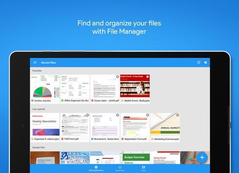 OfficeSuite : Free Office + PDF Editor apk screenshot