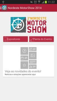 Nordeste MotorShow 2014 poster