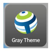 회색 - 팀버브라우저 테마 icon