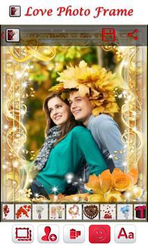love photo frame apk screenshot