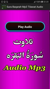 Sura Baqarah Mp3 Tilawat Audio poster