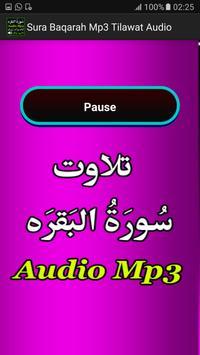 Sura Baqarah Mp3 Tilawat Audio apk screenshot