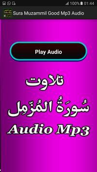 Sura Muzammil Good Mp3 Audio screenshot 4