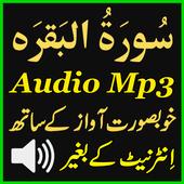 Surat Baqarah Mp3 Audio App icon