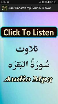 Surat Baqarah Mp3 Audio App apk screenshot