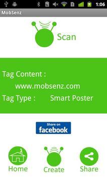 mobSenz TagShare screenshot 3