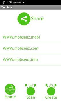 mobSenz TagShare screenshot 4