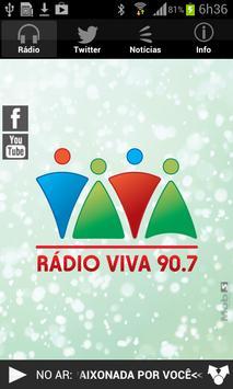 Rádio Viva 90.7 poster