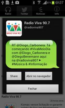 Rádio Viva 90.7 screenshot 2