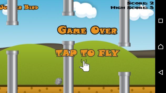 لعبة العصفور النطاط apk screenshot