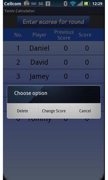 Yaniv Calculator screenshot 2