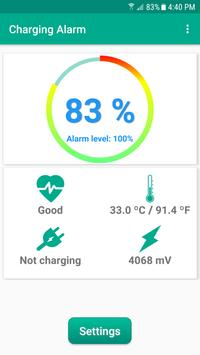 Charge Alarm poster