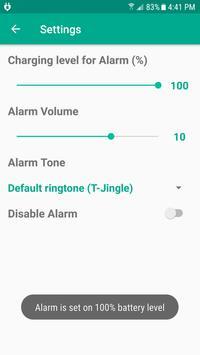 Charge Alarm screenshot 1