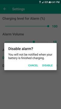 Charge Alarm screenshot 2