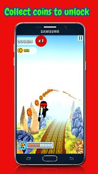 Ninja Run Surfer screenshot 5
