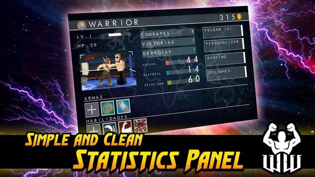 World Warrior Tournament apk screenshot