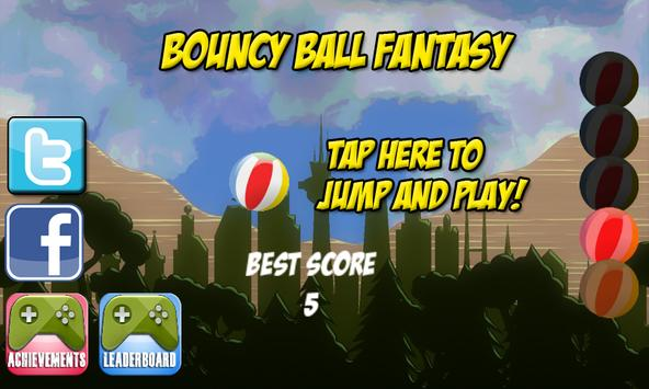 Bouncy Ball Fantasy apk screenshot